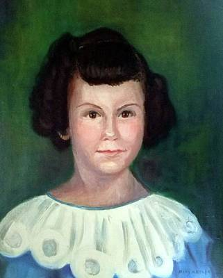 Painting - Daughter By Mary Krupa by Bernadette Krupa