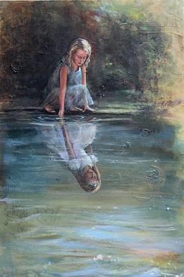 Daughter Of The King Art Print