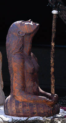 Sculpture - Daughter Of The Moon by Kristen R Kennedy