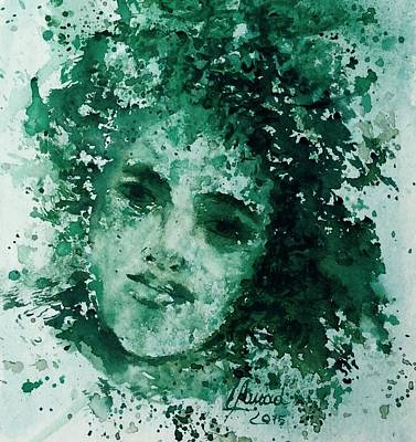 Painting - Daughter Of Nature by Laila Awad Jamaleldin