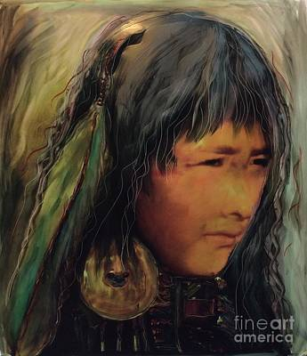 Painting - Daughters Of The Earth by FeatherStone Studio Julie A Miller