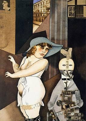 Daum Marries Her Pedantic Automaton George Art Print by Mountain Dreams