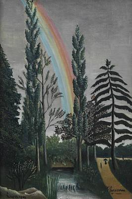 Painting - Daumesnil Lake by Henri Rousseau