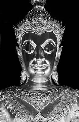 Photograph - Davaravati Buddha - Ayutthaua Thailand by Craig Lovell