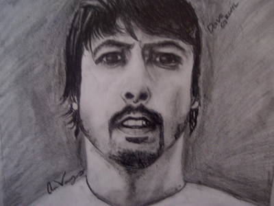 Dave Drawing - Dave Grohl by Ariana Vargas