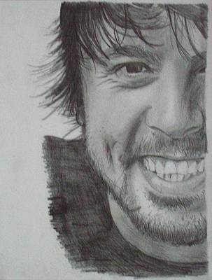 Dave Drawing - Dave Grohl by Kellie Hogben