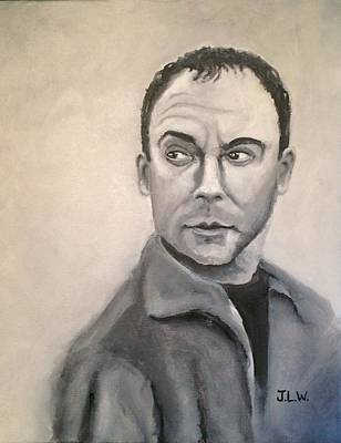 Painting - Dave Mathews by Justin Lee Williams