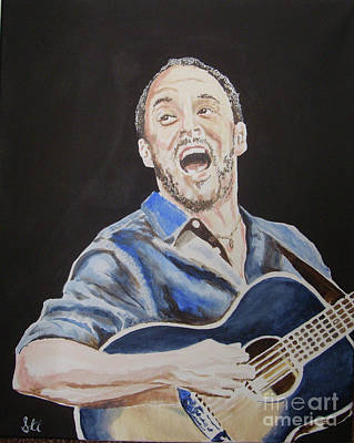 Painting - Dave Mathews by Stuart Engel