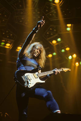 Photograph - Dave Murray Of Iron Maiden by Rich Fuscia