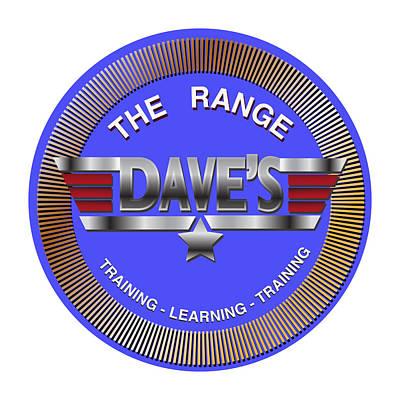 Digital Art - Dave Shooting Range -  Display Only by Dale Turner