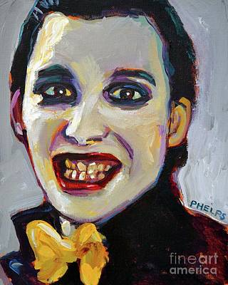 Painting - Dave Vanian Of The Damned by Robert Phelps