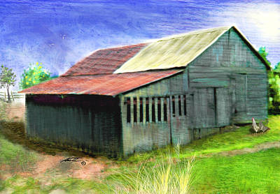 Painting - Dave's Barn by Dale Turner