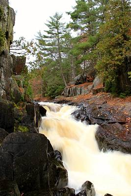 Photograph - Dave's Falls #7277 by Mark J Seefeldt