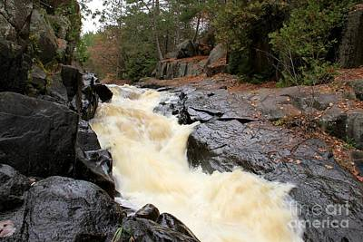 Photograph - Dave's Falls #7284 by Mark J Seefeldt