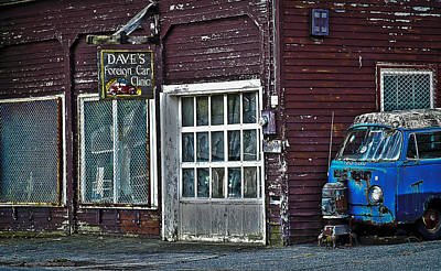 Photograph - Dave's by Rick Mosher