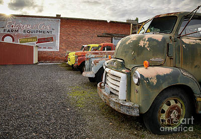Photograph - Daves Salvage by Idaho Scenic Images Linda Lantzy