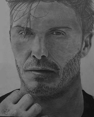 David Beckham Wall Art - Painting - David Beckham by Vipin Sahu