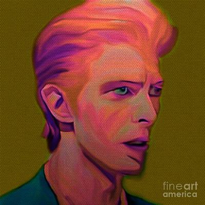 David Bowie 1974 Pink Original