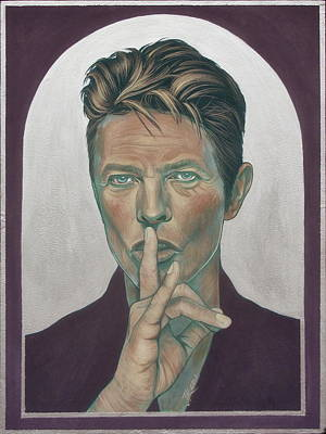 Painting - David Bowie 4 by Jovana Kolic