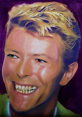 Pastel - David Bowie 6 by Mandy Thomas