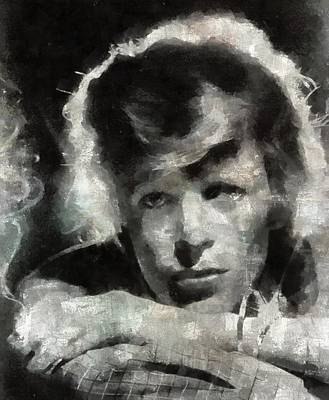 David Bowie Painting - David Bowie By Mary Bassett by Mary Bassett