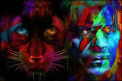 David Bowie - Cat People  Original by Daniel Arrhakis