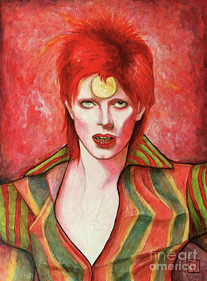 Painting - David Bowie Forever by Dori Hartley