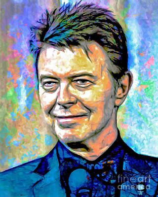Most Popular Painting - David Bowie by GabeZ Art