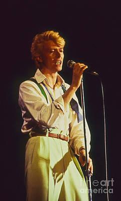 David Bowie Hot Pants Art Print by Philippe Taka