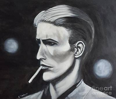 Painting - David Bowie by Isabel Honkonen