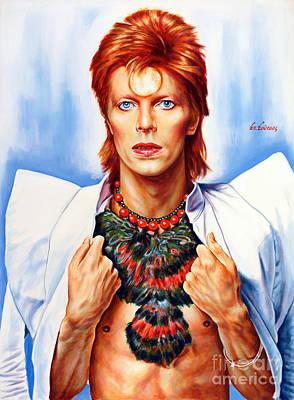 David Bowie Original by Spiros Soutsos