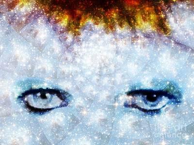 David Bowie / Stardust Art Print by Elizabeth McTaggart
