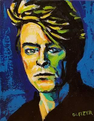 Wall Art - Painting - David Bowie by Stuart Glazer