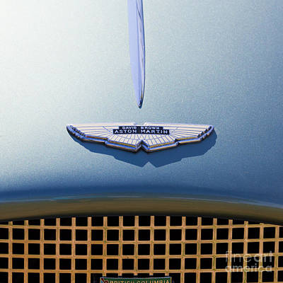 Photograph - David Brown Aston Martin by Chris Dutton