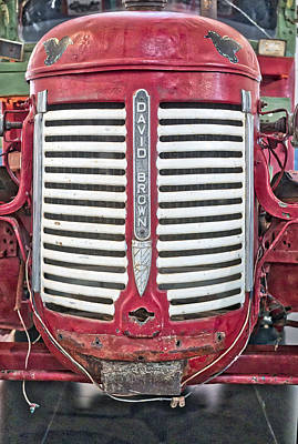 Photograph - David Brown Tractor - Canberra - Australia by Steven Ralser