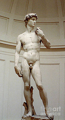 Photograph - David By Michaelangelo - Florence, Italy by Merton Allen