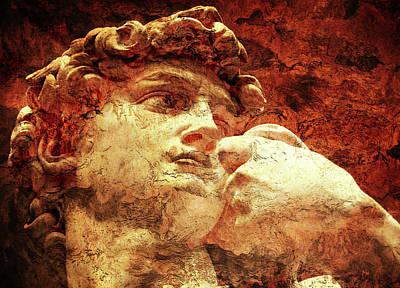 David By Michelangelo Art Print by J- J- Espinoza