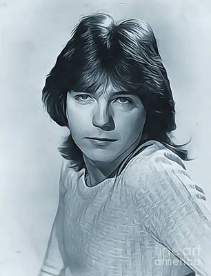 Musicians Royalty Free Images - David Cassidy, Actor/Singer Royalty-Free Image by Esoterica Art Agency