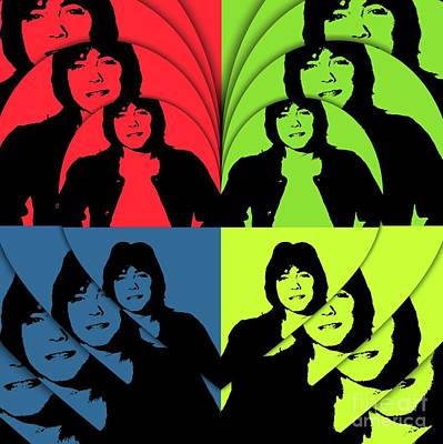 Digital Art Rights Managed Images - David Cassidy, Hollywood Legend - Pop Art Royalty-Free Image by Mary Bassett