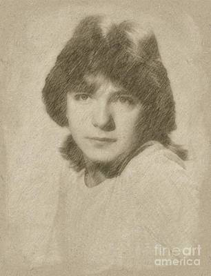 David Cassidy, Singer And Actor Art Print