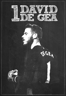 Champion Digital Art - David De Gea by Semih Yurdabak