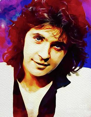 Rock And Roll Royalty-Free and Rights-Managed Images - David Essex, Music Legend by John Springfield