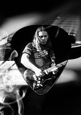 Mixed Media - David Gilmour Art by Marvin Blaine