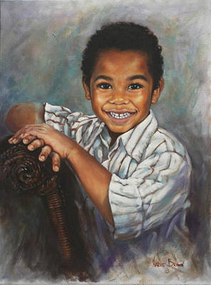 Painting - David by Harvie Brown