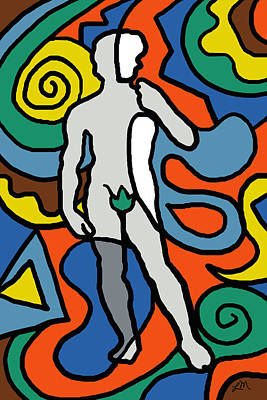 Figure Digital Art - David Imagined by Linda Mears