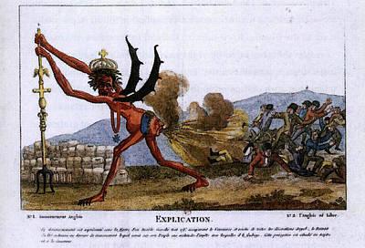 Digital Art - David Jacques Louis The English Government by Jacques Louis David