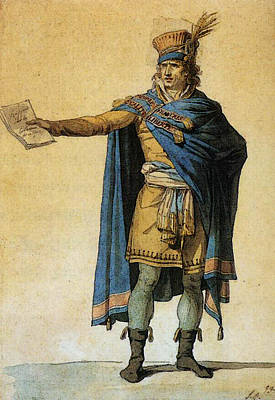 Digital Art - David Jacques Louis The Representatives Of The People On Duty by Jacques Louis David