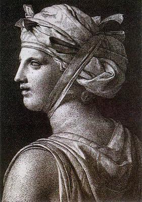 Digital Art - David Jacques Louis Woman In A Turban by Jacques Louis David
