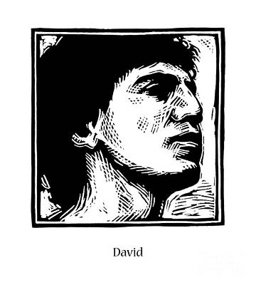 Painting - David - Jldvd by Julie Lonneman
