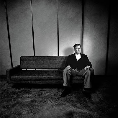 Photograph - David Lynch Red Room In Bw by YoPedro